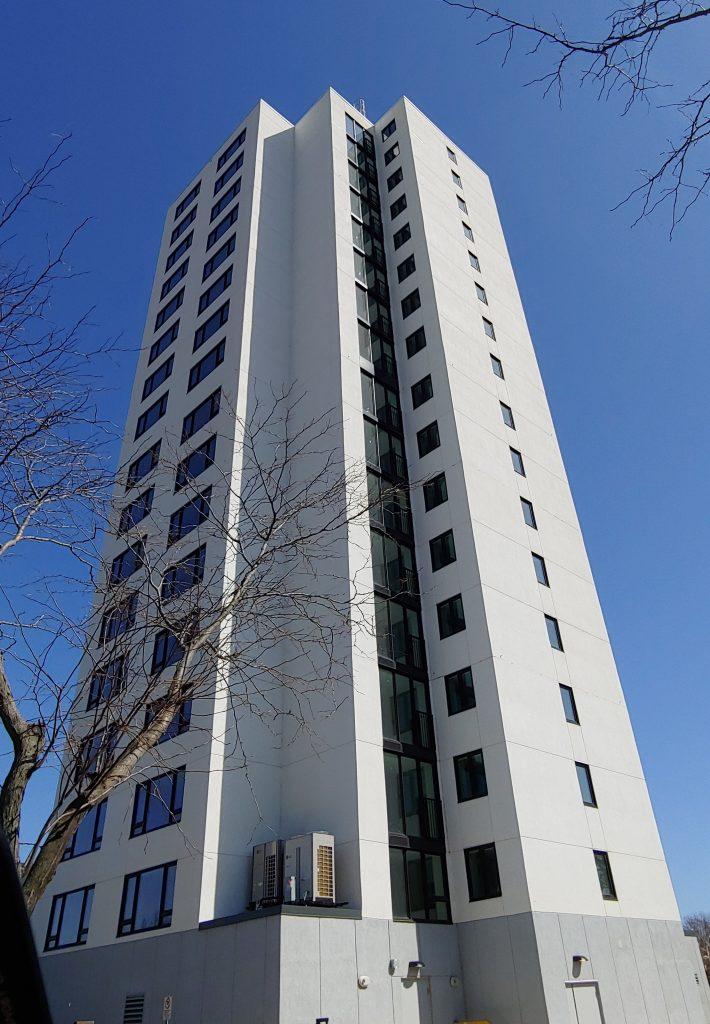 CityHousing Hamilton Ken Soble Tower retrofitted